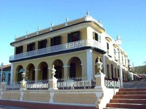 Museo Romántico, símbolo de la ciudad de Trinidad.