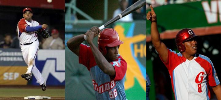 Michel Enriquez, Alfredo Despaigne y Yordanis Samón serán los primeros peloteros cubanos en activo en jugar en ligas profesionales.