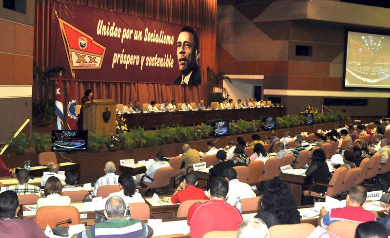 XX Congreso de la CTC. Fotos: César A, Rodriguez/Trabajadores